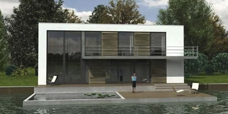 Boat Homes to Subsist on Rising Sea levels