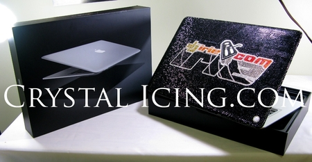 Macbook Air Shimmers With Swarovski Crystals