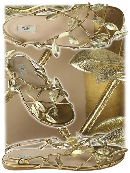 prasho golden sandals Valentine Day Special: Golden days with Golden Sandals