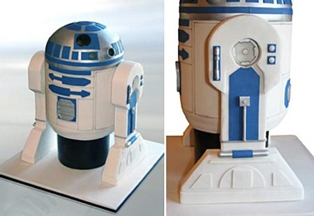 R2-D2 Cake: An Excuse for Celebration