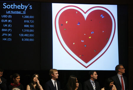 Hirst Pill Cabinet Sells for $6.2 mn at Bono AIDS Auction