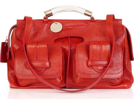 Elite Handbag: Saskia Leather Tote