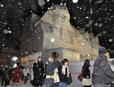 Annual Snow Festival Begins in Sapporo