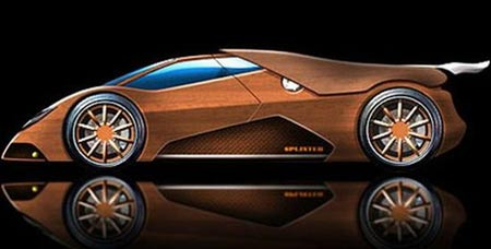 World's First Wooden Supercar: The Splinter