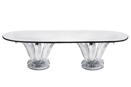 Lalique Cactus Double Table