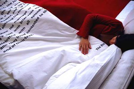Bedtime Stories Blanket by Tiago da Fonseca
