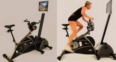 An Interactive Exercise Bike: Trixter X-Dream