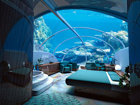Istanbul's 7-Story Underwater Hotel to Open in 2010, news, estate, hotel