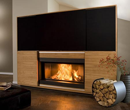 Vok Unveils Multimedia Fireplace