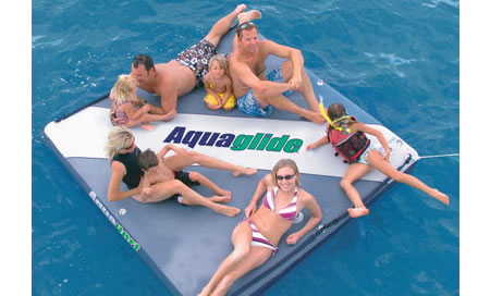 aquaglide airport 1 Aquaglide AirPort: Ride On Inflatable Private Island