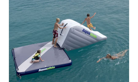 aquaglide airport 4 Aquaglide AirPort: Ride On Inflatable Private Island