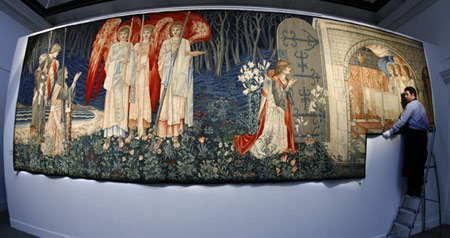 "Jimmy Page's Victorian Tapestry ""The Attainment"" To Fetch £1million"