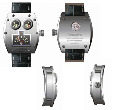 azimuth Mr Roboto: Worlds First Vintage Tin Robot Concept Watch