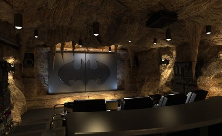 Elite Home Theater Seating Offers $500,000 Batman Cave Themed Theater