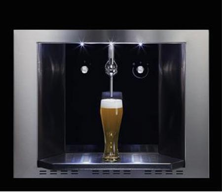 CDA Presents Wall-Mounted Beer Dispenser
