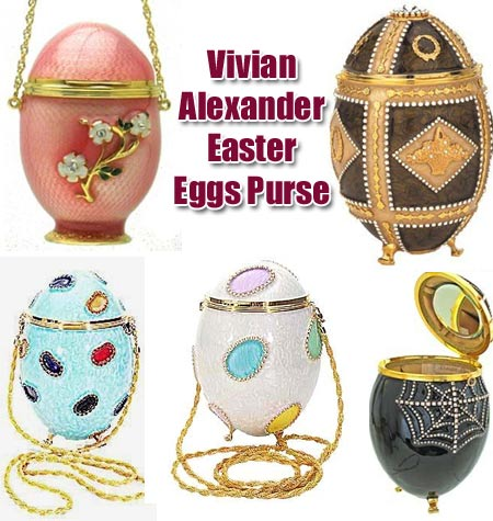Elite Handbag: Vivian Alexander Easter Eggs Purse