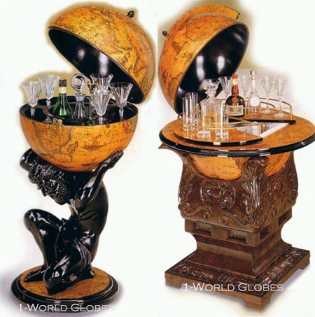 Feel Worldly with Limited Edition Globe Furniture