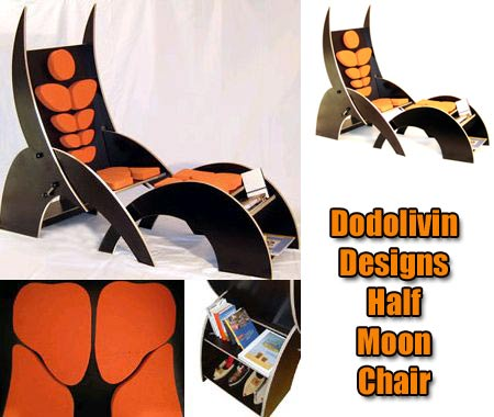 Half Moon Chair Or Batman Chair? Ask Dodolivin