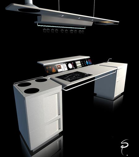 All In One Kitchen Concept