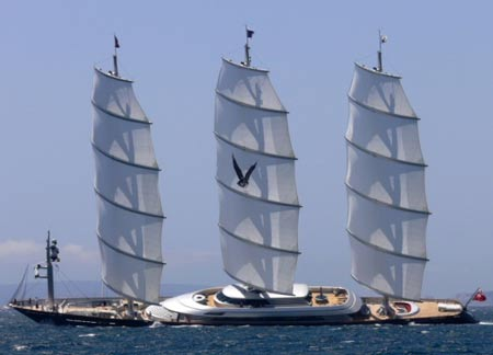 Maltese Falcon Yacht Demands €115,000,000