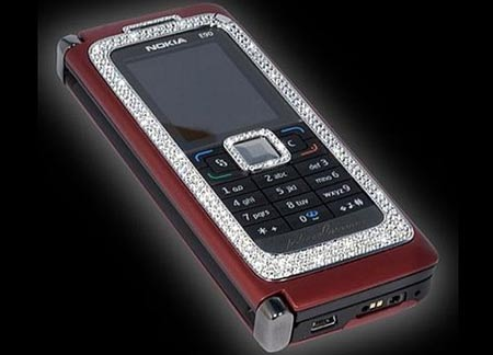 $82,000 Diamond Encrusted Nokia E90 Invites Uber-Rich