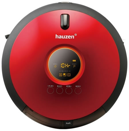 Samsung Unveils Hauzen Robotic Vacuum Cleaner