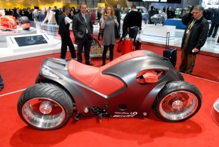 Four Wheeled Motorcycle