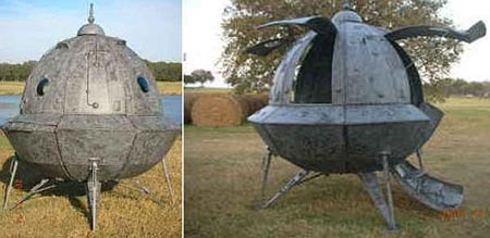 Home-Made Space Ship Priced at $3500