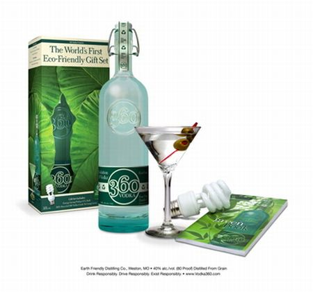 Vodka 360: World's First Green Vodka