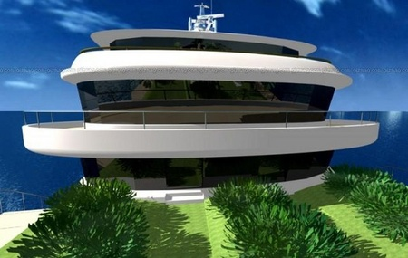 WallyIsland: A Floating Island Or A Gigayacht