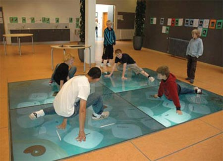 Wisdom Well Interactive Floor