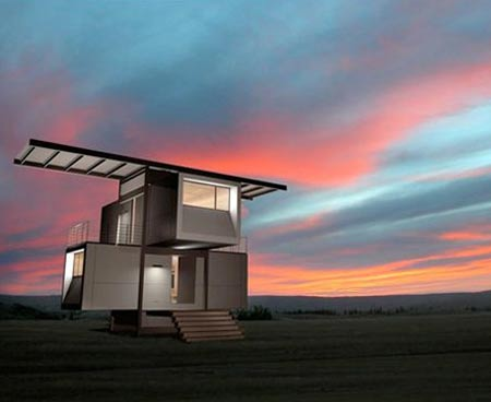 Robotic ZeroHouse: A Portable, Eco Friendly, Automated and Complete House