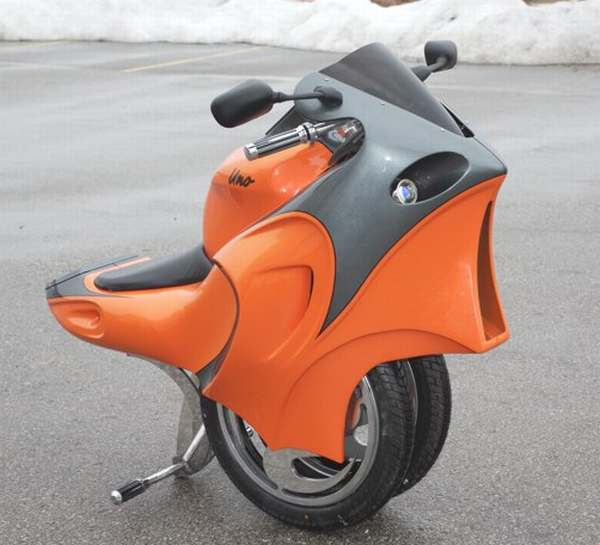 Uno One Wheeled Motorcycle