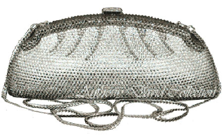 Elite Handbag: Swarovski Encrusted Evening Bag by Anthony David