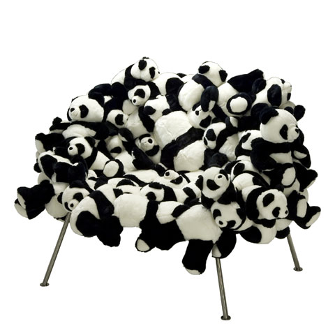 World's Most Expensive Stuffed Panda Furniture: The Banquete Chair World's Most Expensive, Furniture, Banquete Chair