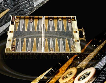 Diamond Edition £500,000 Backgammon For True Gamers