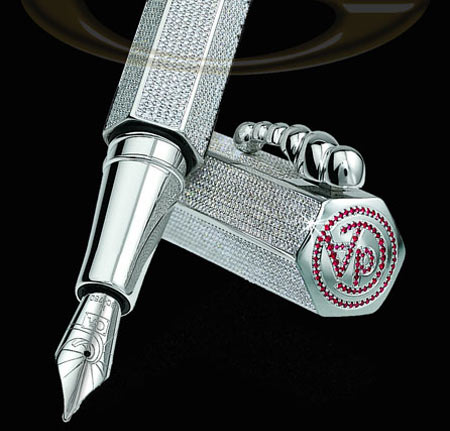 Exclusive Diamond and Ruby Pen by GoldStriker