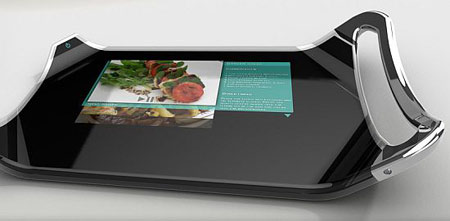 Eco-friendly Cutting Board With Integrated LCD display