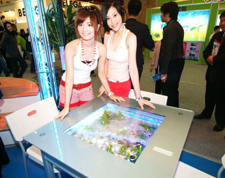 eco desk AZOO Unveils Eco Desk Cum Aquarium