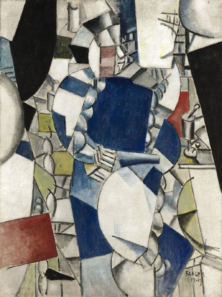 """Woman in Blue"" by Leger May Fetch $45 mn at Sotheby's"