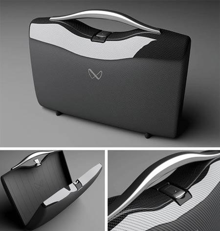 G3 Carbon Fiber Briefcase