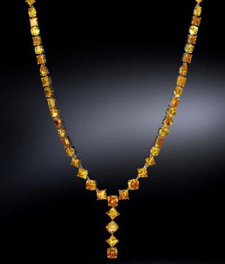 $500,000 Diamond Necklace by Gemesis