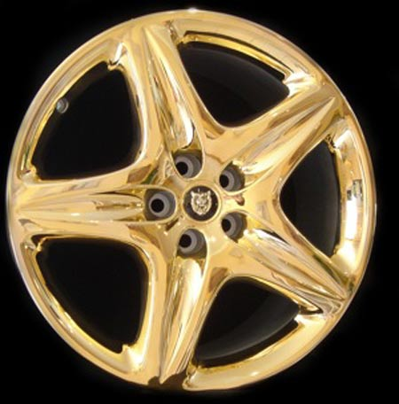 The Most Expensive Gold Alloy Wheels
