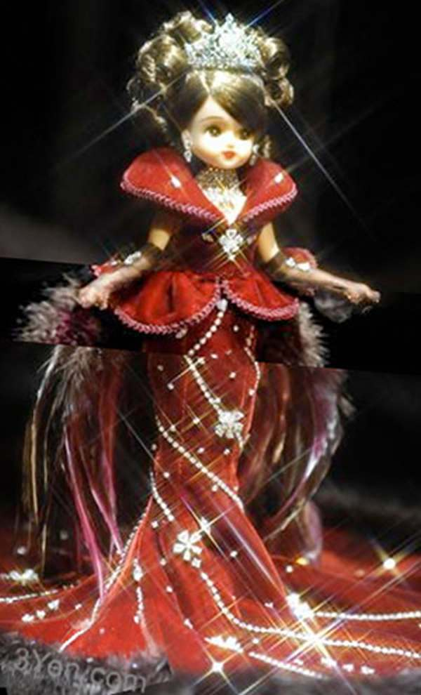 Licca Chan Diamond studded doll for $935,000