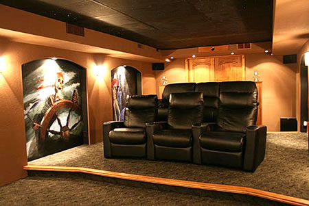 The Pirates of the Caribbean Home Theater
