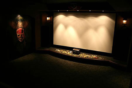 Pirates of the Caribbean Home Theater