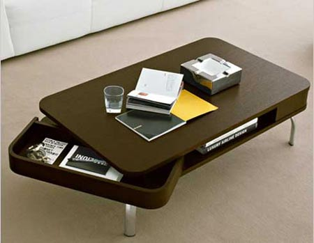 Retro Contemporary Coffee Table By Calligaris