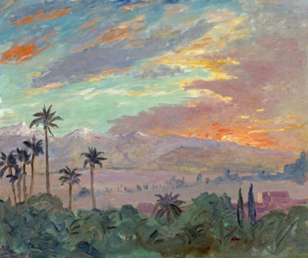 Churchill Sunset Painting May Fetch $600,000