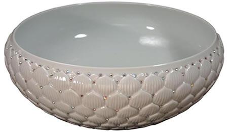 Linkasink Unveils Swarovski Crystal Sinks Sinks, Swarovski Crystal Sinks, Linkasink, pearl, Kirk Guthrie, Crystals, designer, Home decor