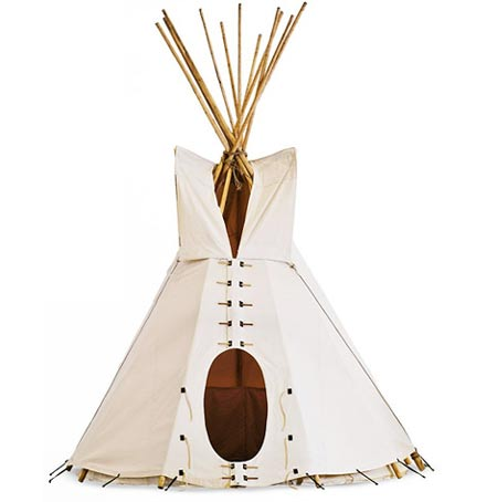 Tepee: A Complete Outdoor Tent